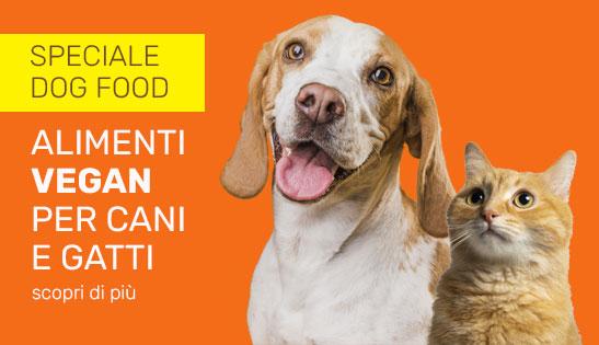 cibo vegan cani gatti
